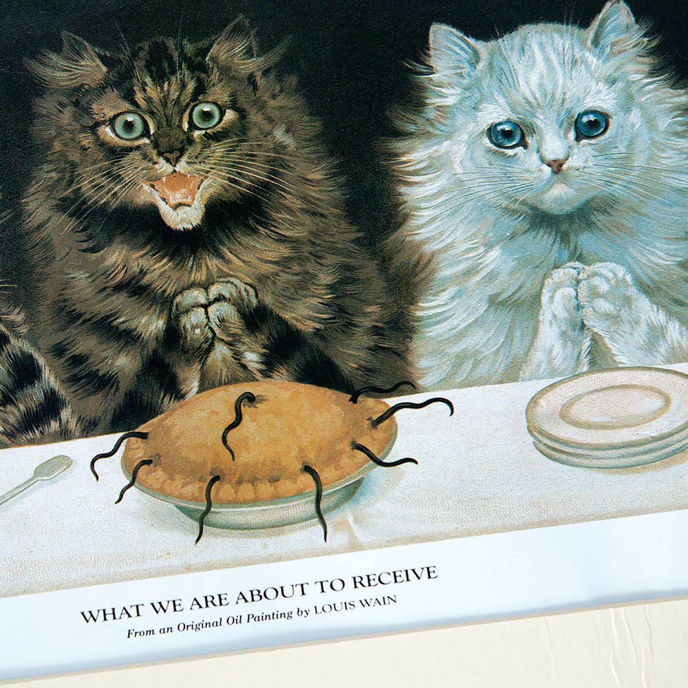 Louis Wain - What We are About to Receive - Mouse Pie!