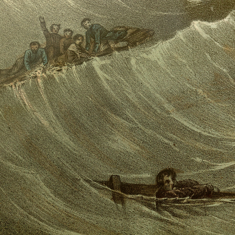 The Stranding of the Anglo Saxon Marine Disaster Print