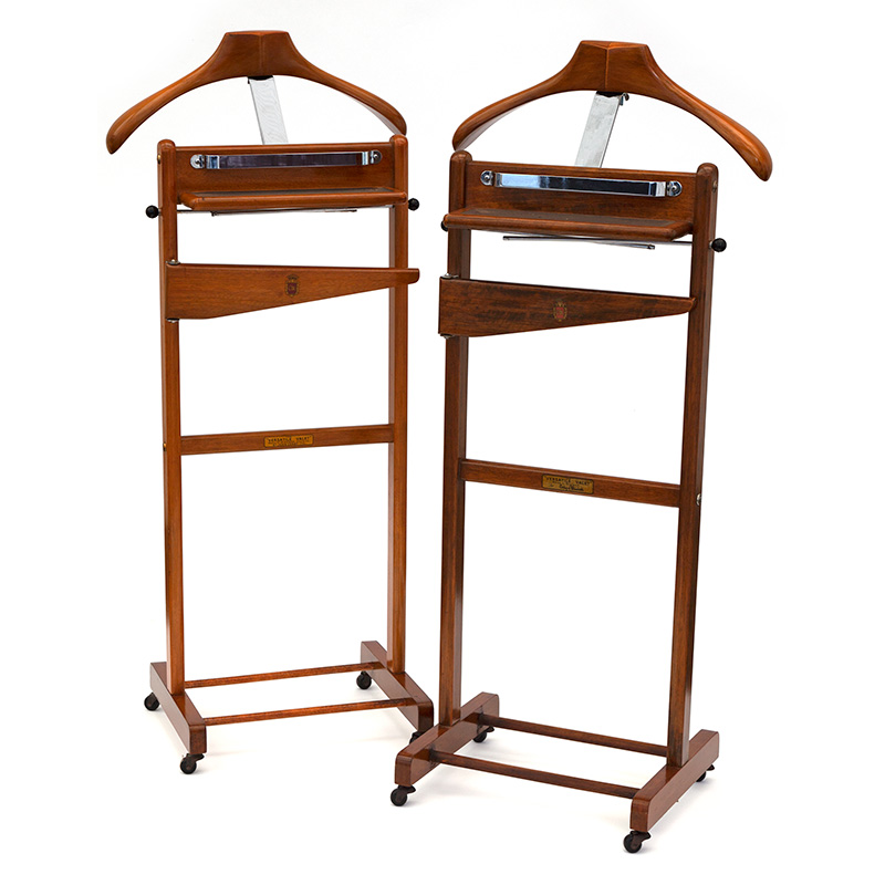 Pair of Beech 'Versatile Valet' by Corby of Windsor