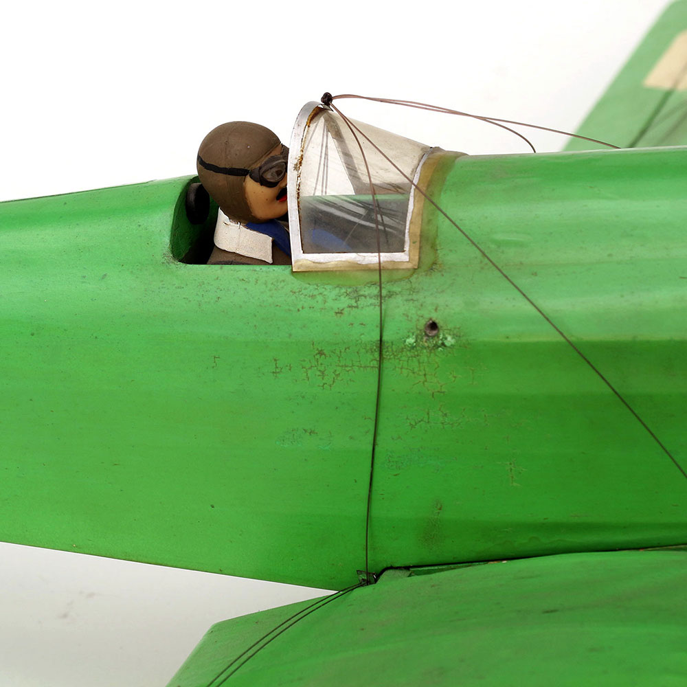 Retired Flying Model Aircraft with Pilot!