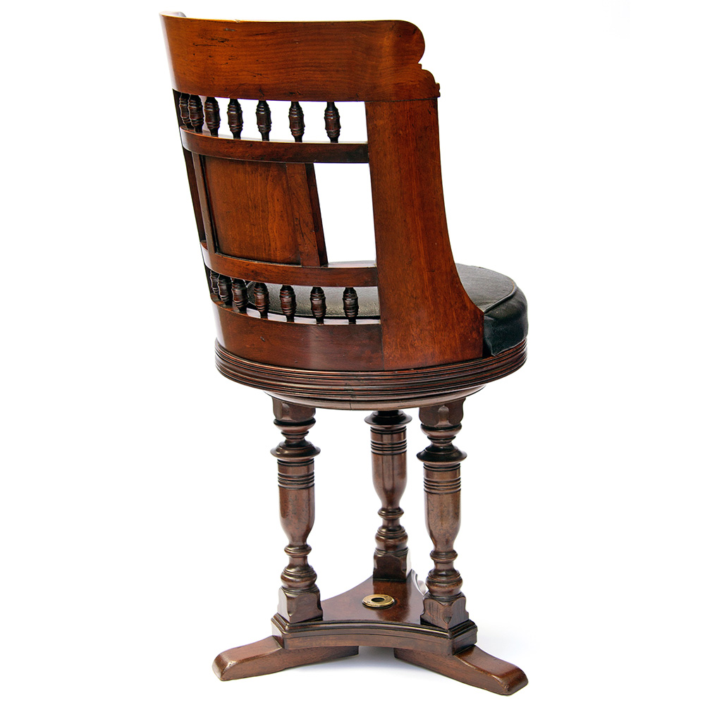 Rare Revolving Chair from Paddle Steamer Princess Victoria